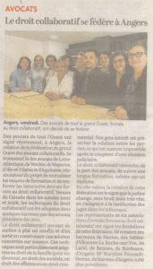 Création de la Fédération des Associations en Droit Collaboratif Ouest Région